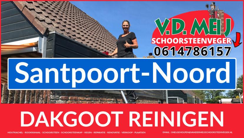 dakgoot reinigen Santpoort-Noord