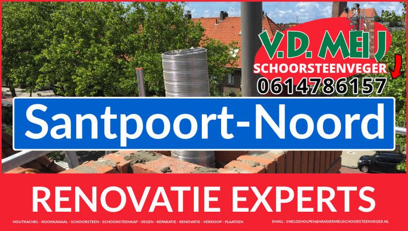 algehele schoorsteen renovatie in Santpoort-Noord