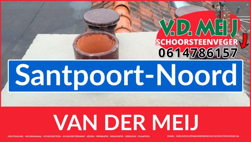 Van der Meij schoorsteenrenovatie in Santpoort-Noord
