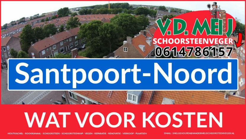 schoorsteen restauratie Santpoort-Noord
