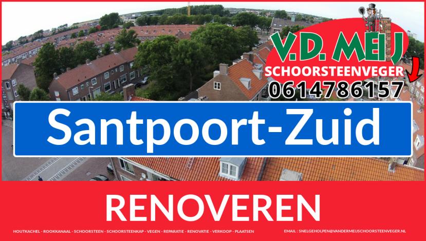 Tot ziens bij Van der Meij schoorsteen restauratie Santpoort-Zuid