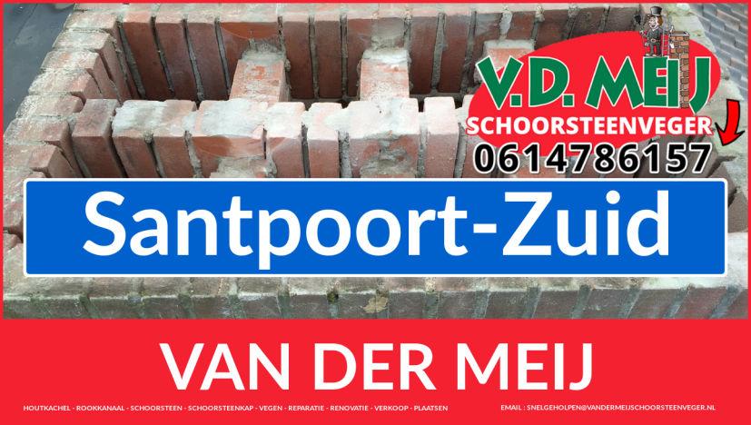 Van der Meij schoorsteenrenovatie in Santpoort-Zuid