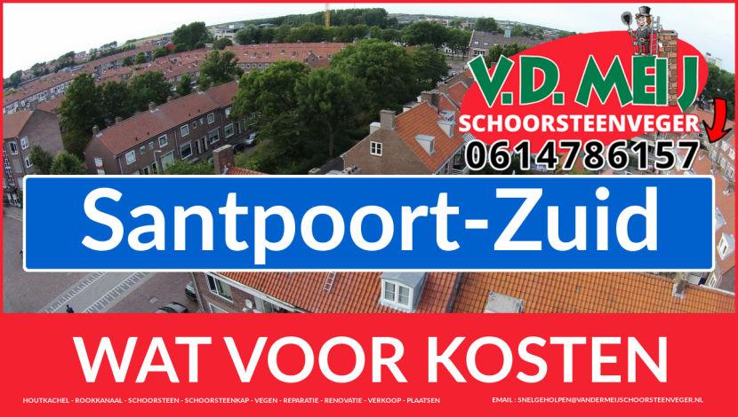 Schoorsteenrenovatie Schoorsteen Santpoort-Zuid