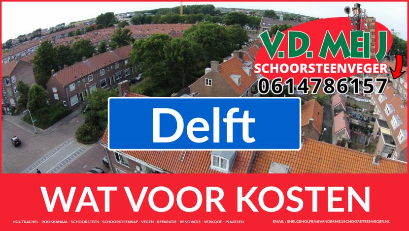 Schoorsteenrenovatie Schoorsteen Delft