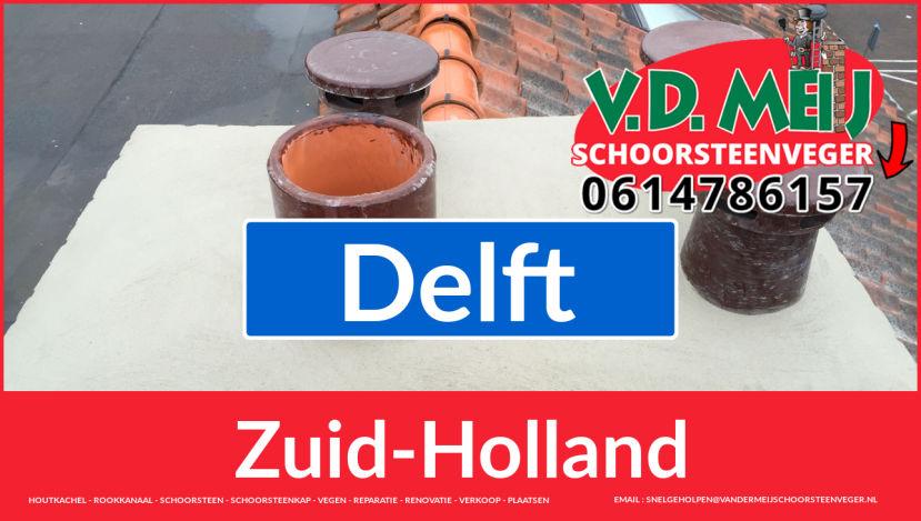 bedankt voor uw bezoek aan Van der Meij schoorsteen renovatie Delft