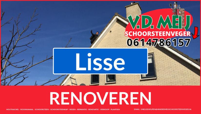 Tot ziens bij Van der Meij schoorsteenrenovatie Lisse