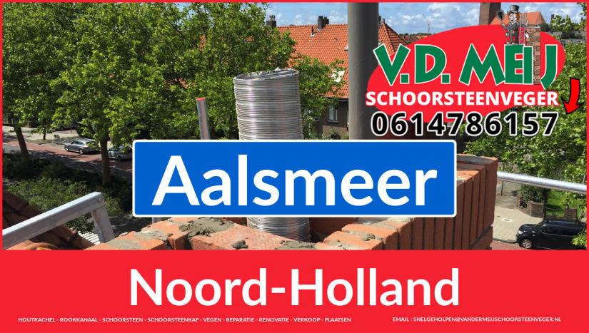 Tot ziens bij Van der Meij schoorsteenrenovatie Aalsmeer