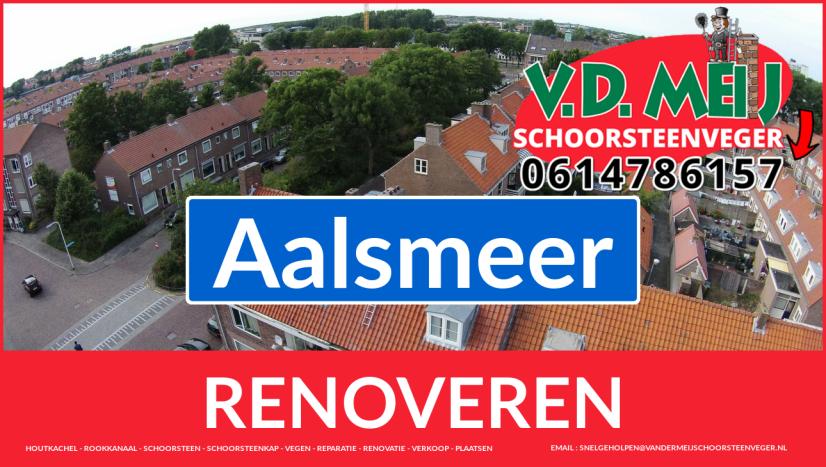 bedankt voor uw bezoek aan Van der Meij schoorsteen restauratie Aalsmeer