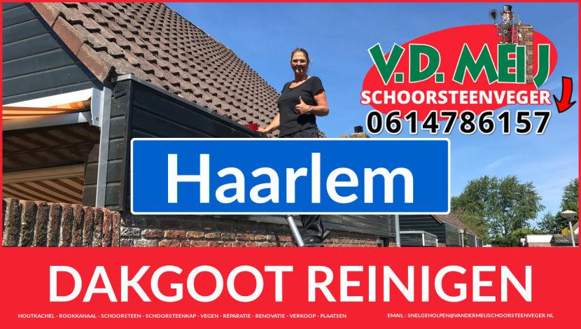 dakgoot reinigen Haarlem
