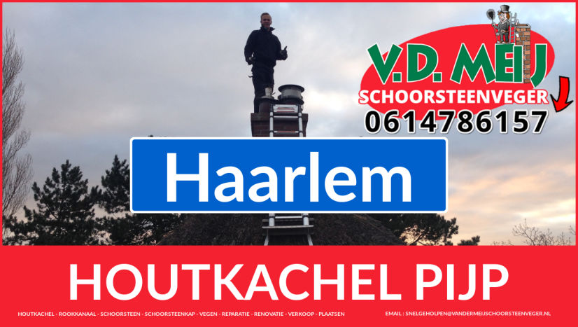 enkel-wandig rookkanaal plaatsen in Haarlem