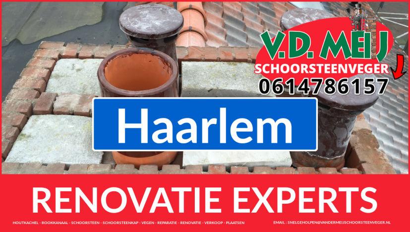 totale schoorsteen renovatie in Haarlem