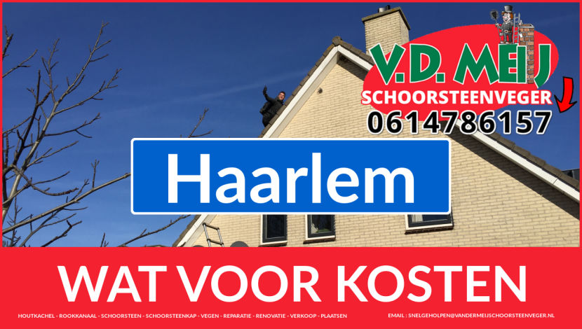 Schoorsteenrenovatie Schoorsteen Haarlem