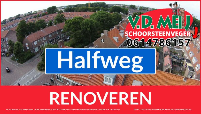 Tot ziens bij Van der Meij schoorsteen restauratie Halfweg