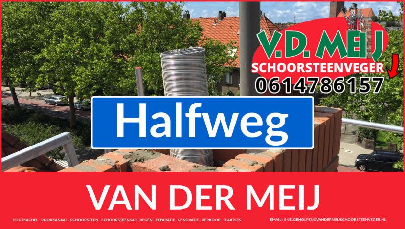 Van der Meij schoorsteen renovatie in Halfweg