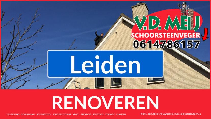 bedankt voor uw bezoek aan Van der Meij schoorsteenrenovatie Leiden