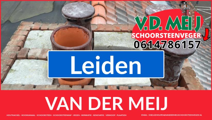 Van der Meij schoorsteenrenovatie in Leiden
