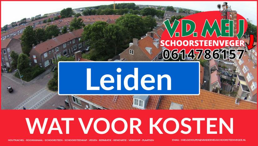 schoorsteen restauratie Leiden