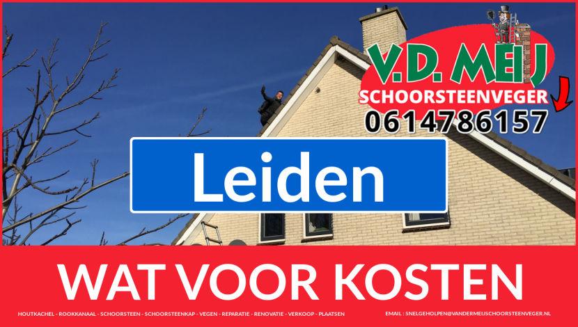 Schoorsteenrenovatie Schoorsteen Leiden
