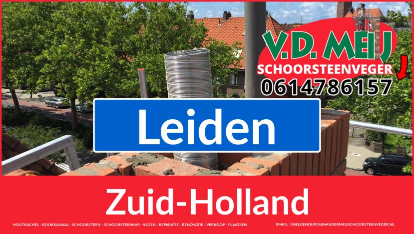 bedankt voor uw bezoek aan Van der Meij schoorsteen restauratie Leiden