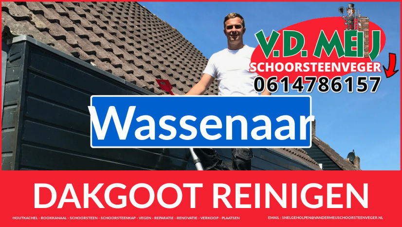 dakgoot vegen Wassenaar