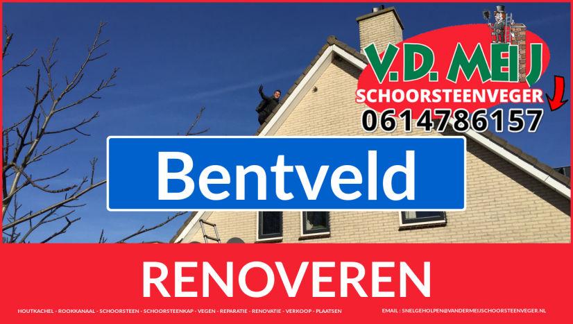 Tot ziens bij Van der Meij schoorsteen renovatie Bentveld