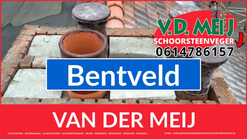 Van der Meij schoorsteen renovatie in Bentveld