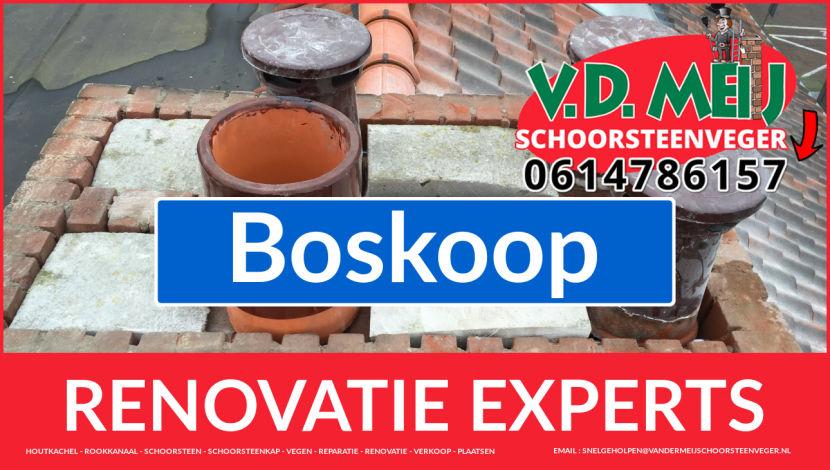 totale schoorsteen renovatie in Boskoop