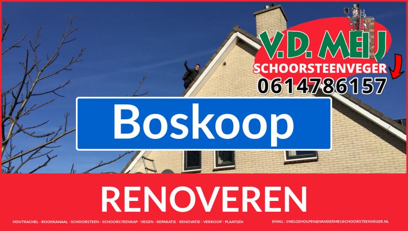 bedankt voor uw bezoek aan Van der Meij schoorsteen renovatie Boskoop