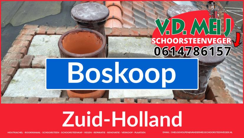 Tot ziens bij Van der Meij schoorsteen renovatie Boskoop