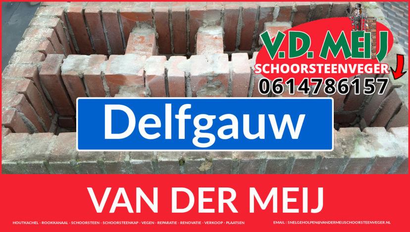 Van der Meij schoorsteenrenovatie in Delfgauw