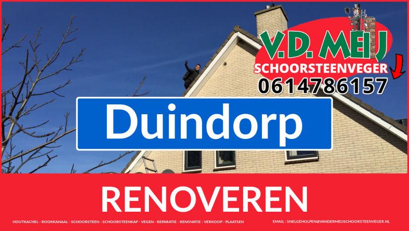 bedankt voor uw bezoek aan Van der Meij schoorsteen renovatie Duindorp