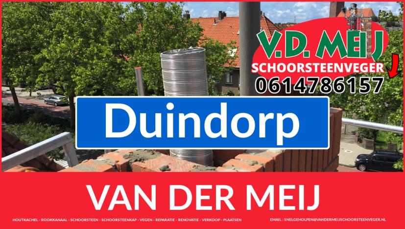 Van der Meij schoorsteen renovatie in Duindorp