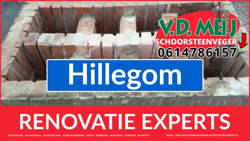 volledige schoorsteen restauratie in Hillegom