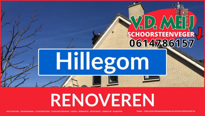 Tot ziens bij Van der Meij schoorsteen restauratie Hillegom