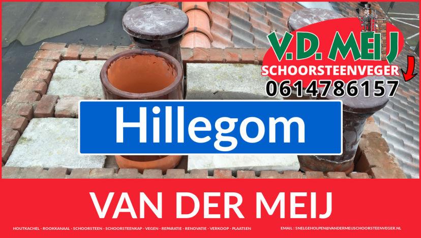 Van der Meij schoorsteenrenovatie in Hillegom