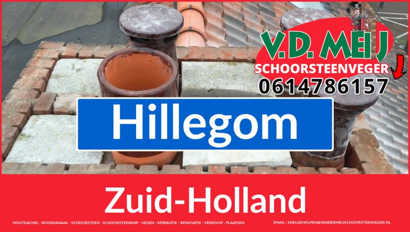 Tot ziens bij Van der Meij schoorsteenrenovatie Hillegom