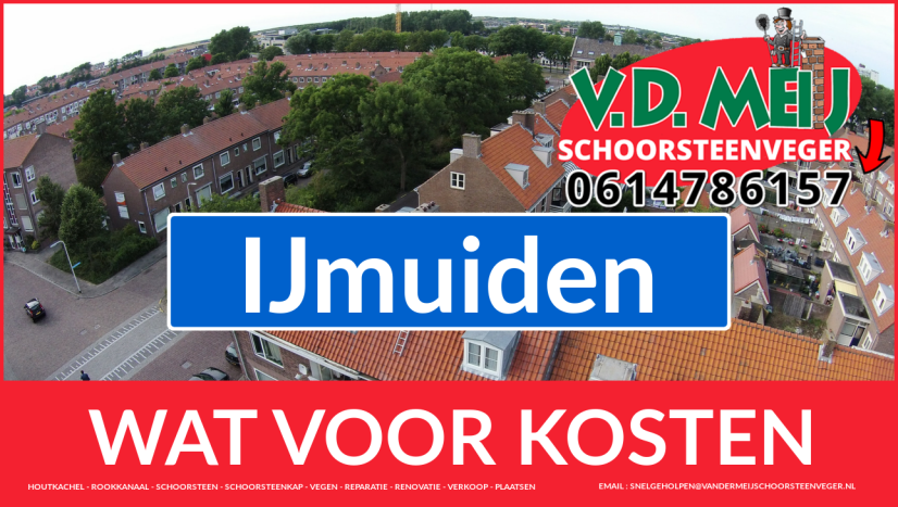 Schoorsteenrenovatie Schoorsteen IJmuiden