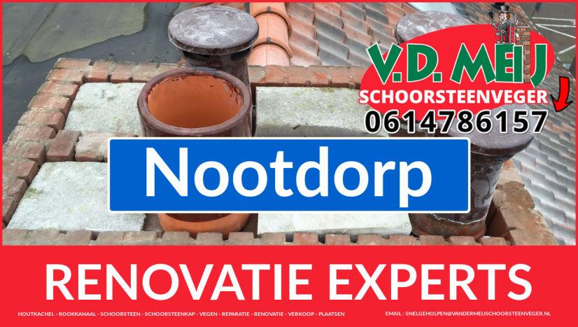 volledige schoorsteen restauratie in Nootdorp