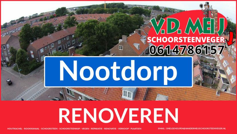 bedankt voor uw bezoek aan Van der Meij schoorsteenrenovatie Nootdorp