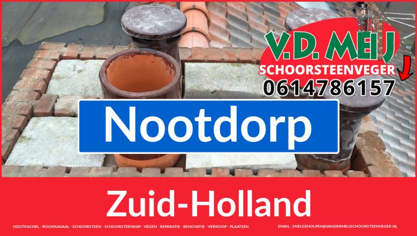 Tot ziens bij Van der Meij schoorsteen restauratie Nootdorp