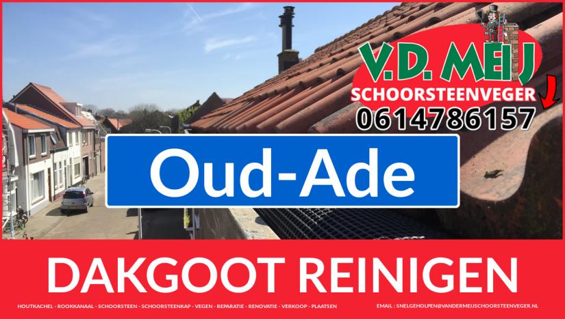 dakgoot vegen Oud-Ade