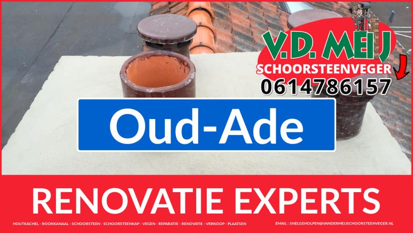 complete schoorsteen renovatie in Oud-Ade