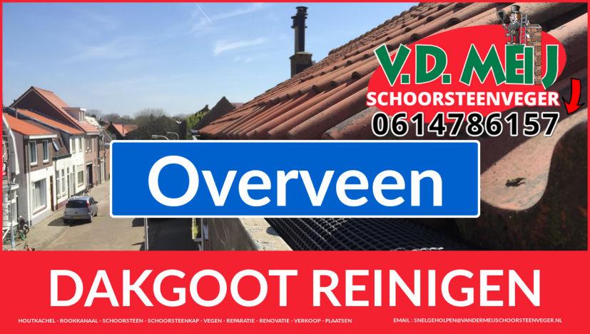 dakgoot reinigen Overveen