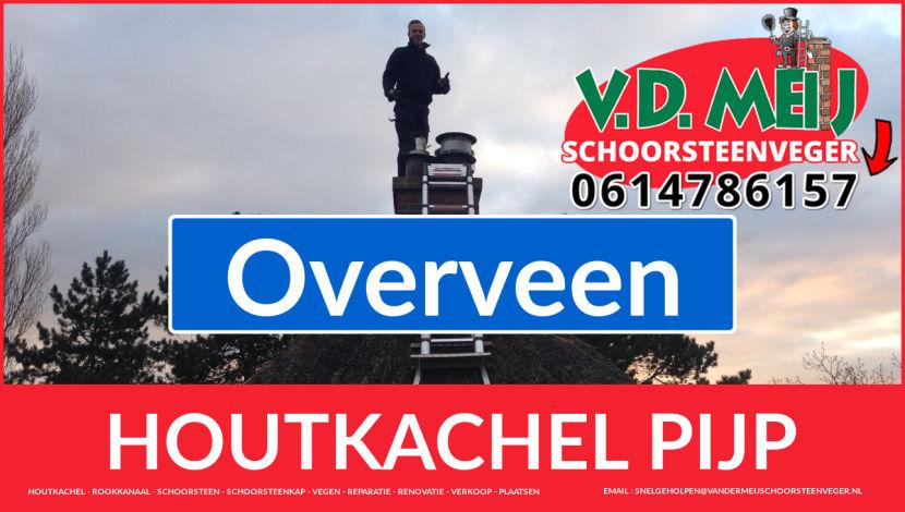enkelwandig rookkanaal aanleggen in Overveen
