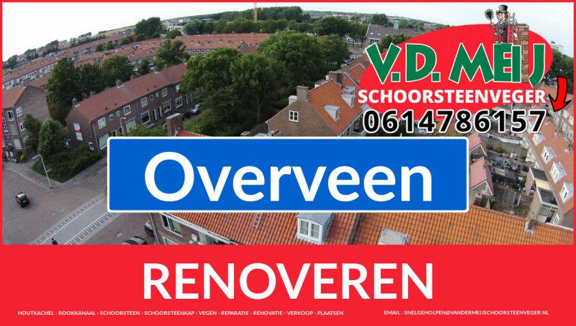 bedankt voor uw bezoek aan Van der Meij schoorsteen renovatie Overveen