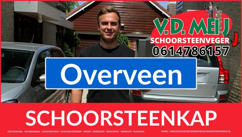 schoorsteenkap plaatsen in Overveen
