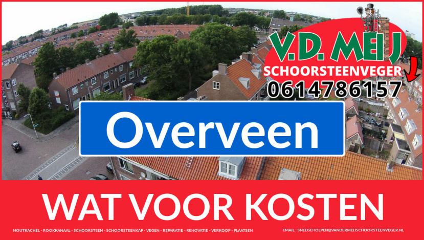schoorsteen renoveren Overveen