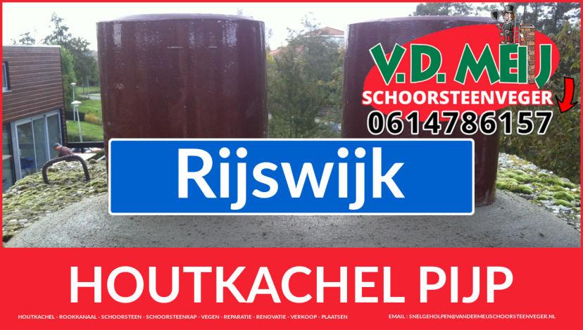 enkel-wandig rook-kanaal vervangen in Rijswijk