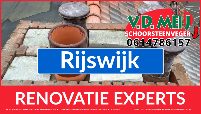 gehele schoorsteen renovatie in Rijswijk