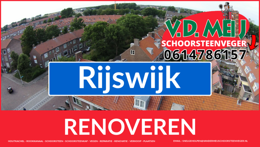 bedankt voor uw bezoek aan Van der Meij schoorsteenrenovatie Rijswijk
